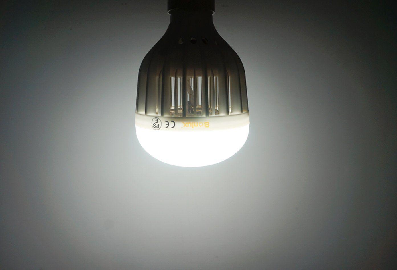 Bonlux E27 LED Bug Zapper Light Bulb 10W Cool White Screw ES Base 2