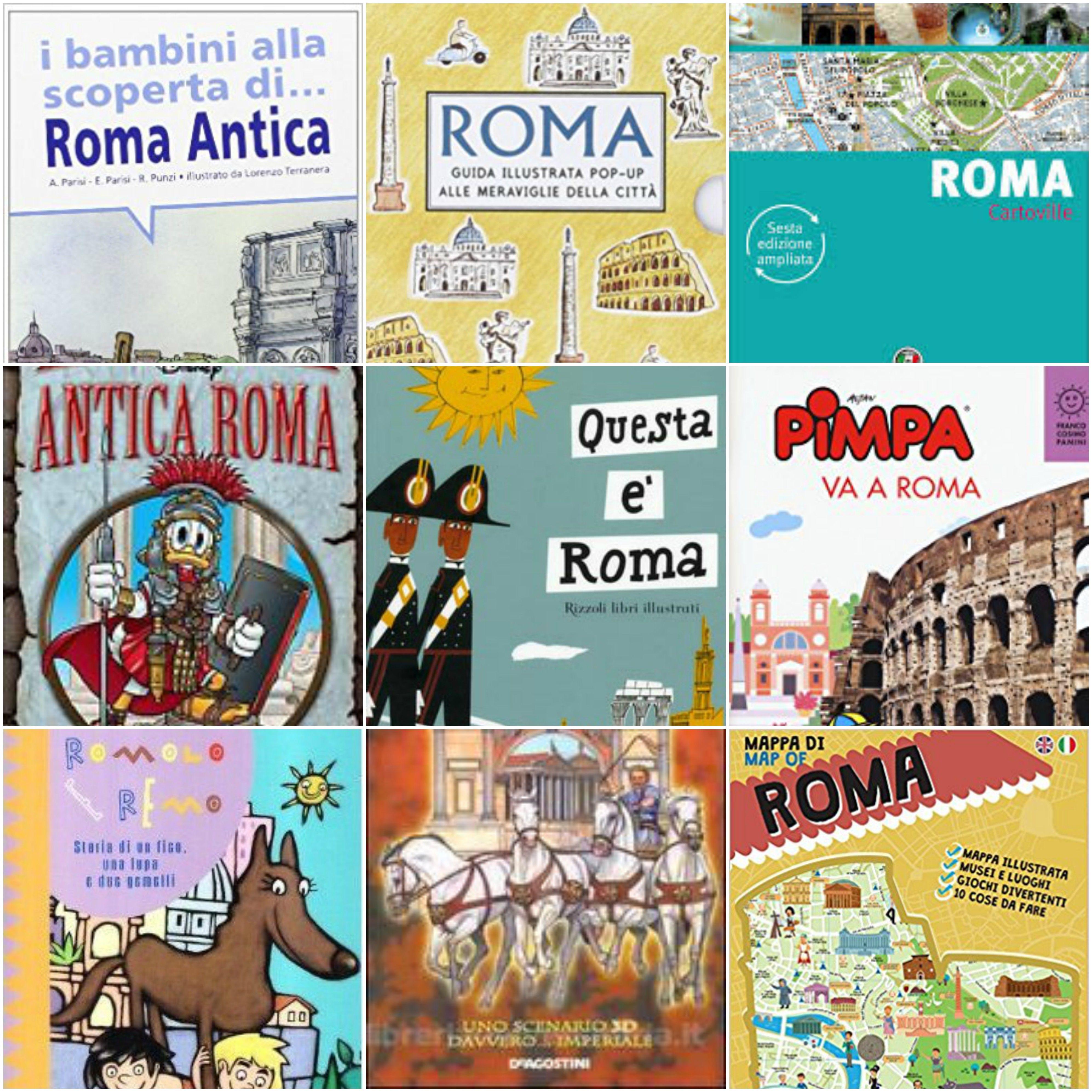 15 Guide e libri su Roma per bambini   Libri ...