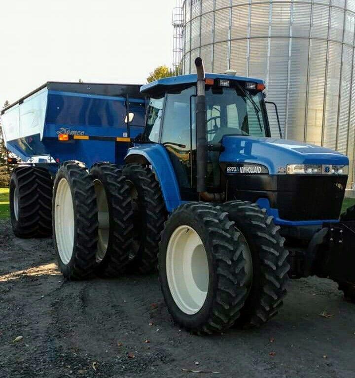 New Holland 8970 Fwd New Holland Ford New Holland Tractor New