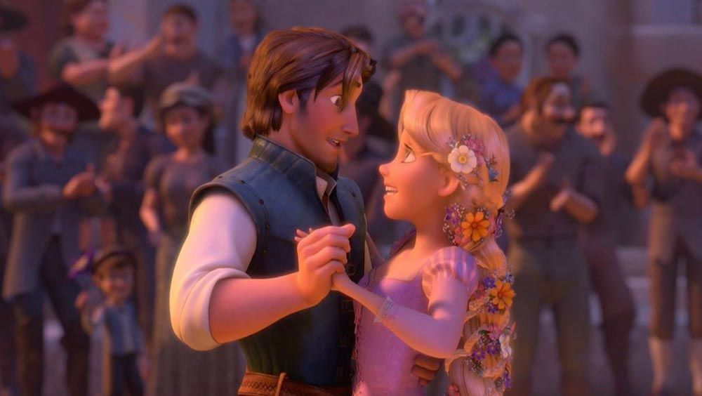 Sneaky Romantic Disney Moments To Swoon For Oh My Disney Disney Princess Facts Disney Princess Challenge Disney Couples