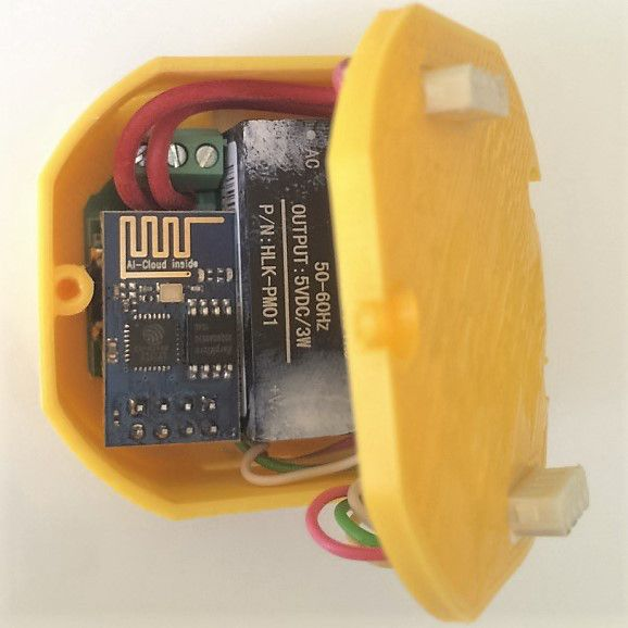 An Esp8266 In Every Light Switch And Outlet Diy Home Automation Home Automation Project Smart Home Automation