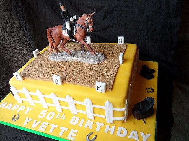 Dressage cake