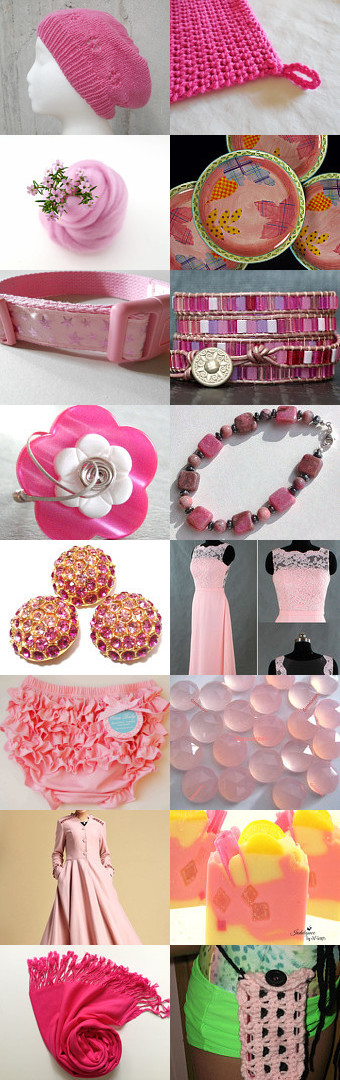 Pink by Grace Bussinger on Etsy--Pinned with TreasuryPin.com