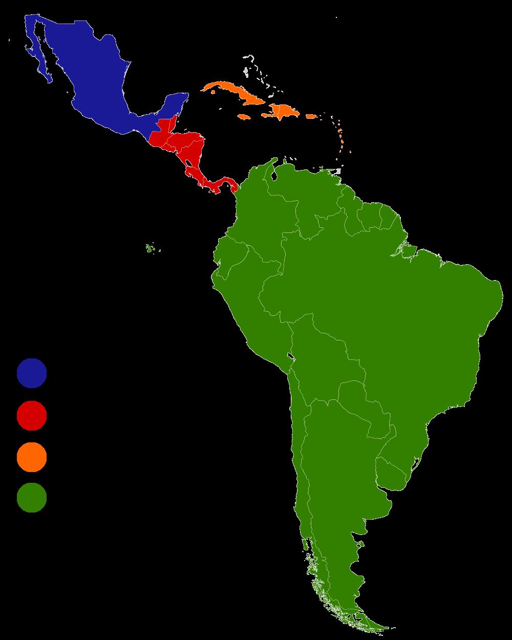 Latin America Regions History Pinterest
