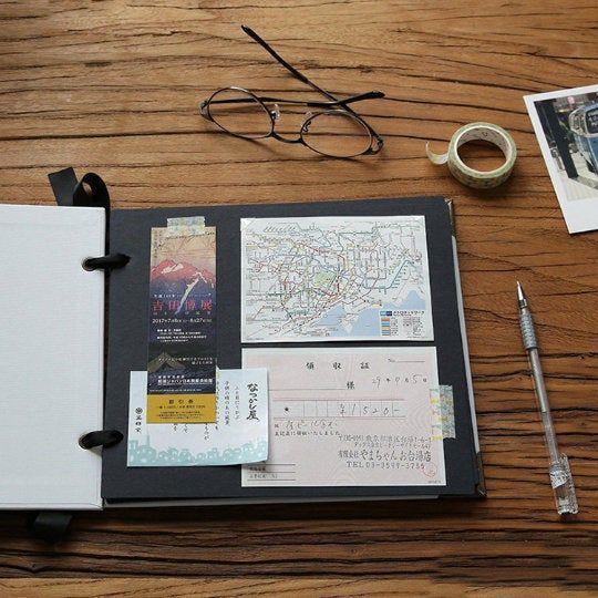 Ring Binder Scrapbook Album. Ribbon Album. Handmade Photo