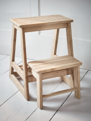 Lovely Step Stool with Rails