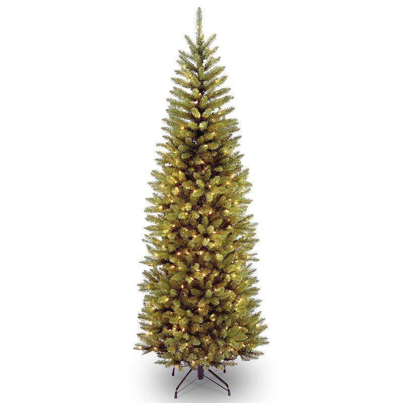 National Tree Company 7-ft. Pre-Lit Kingswood Fir Artificial Christmas Tree, Green
