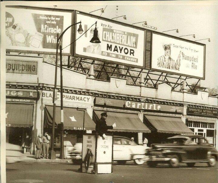 Car Dealerships Springfield Ma >> My City In 1953 Springfield Massachusetts No Street
