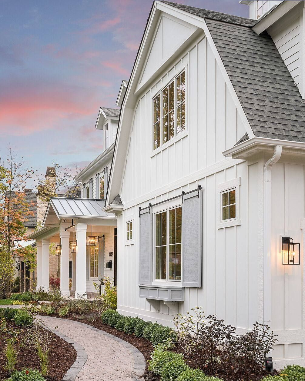 modernfarmhouse curb appeal notice the windowbox and on industrial farmhouse paint colors id=32310