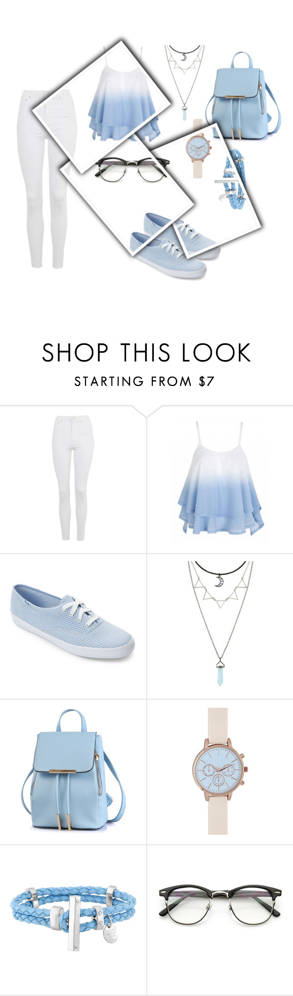 """""""Untitled #132"""" by lina2001-i ❤ liked on Polyvore featuring Topshop, Keds, New Look and Henri Bendel"""