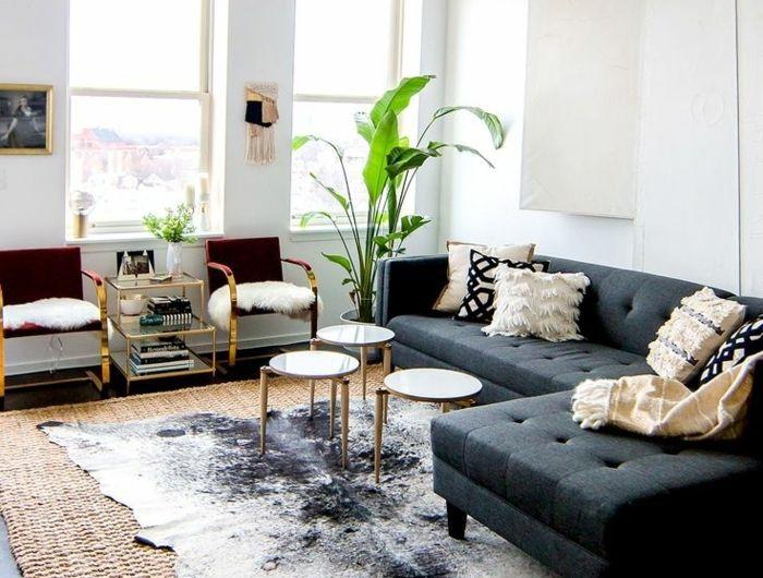 Comment Adopter La Peau De Vache Dans L Interieur Style Deco Deco Salon Deco Maison