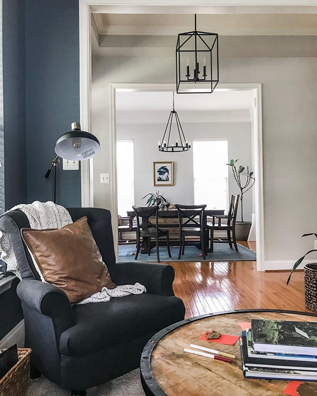 Agreeable Gray Sw 7029 With Gibraltar Sw 6257 Living Room Paint
