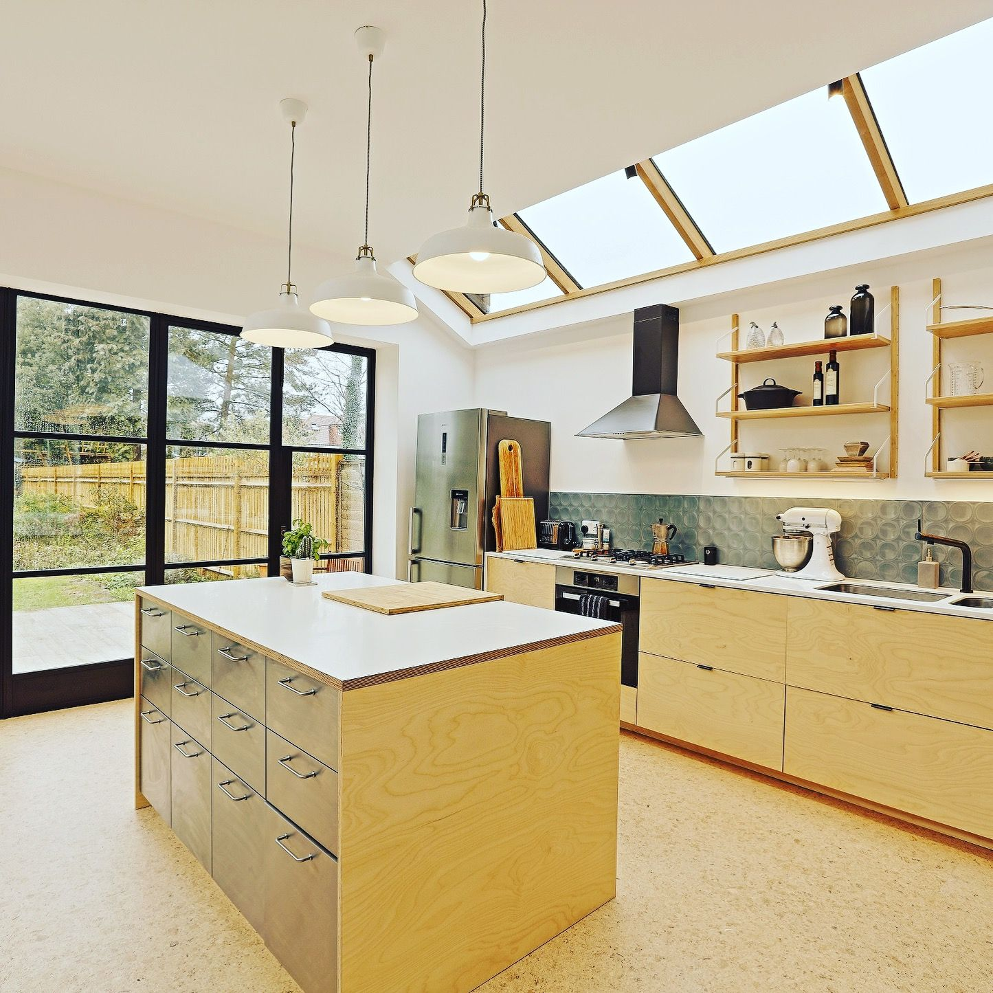 Light Extension And Refurbishment Of This Family Home In Twickenham