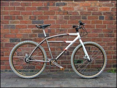 Cork Grips Urban Bike Mtb Bicycle Single Speed Mountain Bike