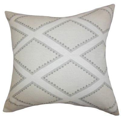 Alaric Geometric Cotton Throw Pillow I 2020 Studio