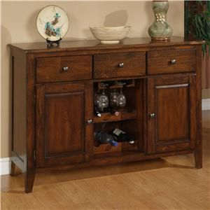 1279 Mango Wood Dining Room Sideboard by Holland House at Morris ...