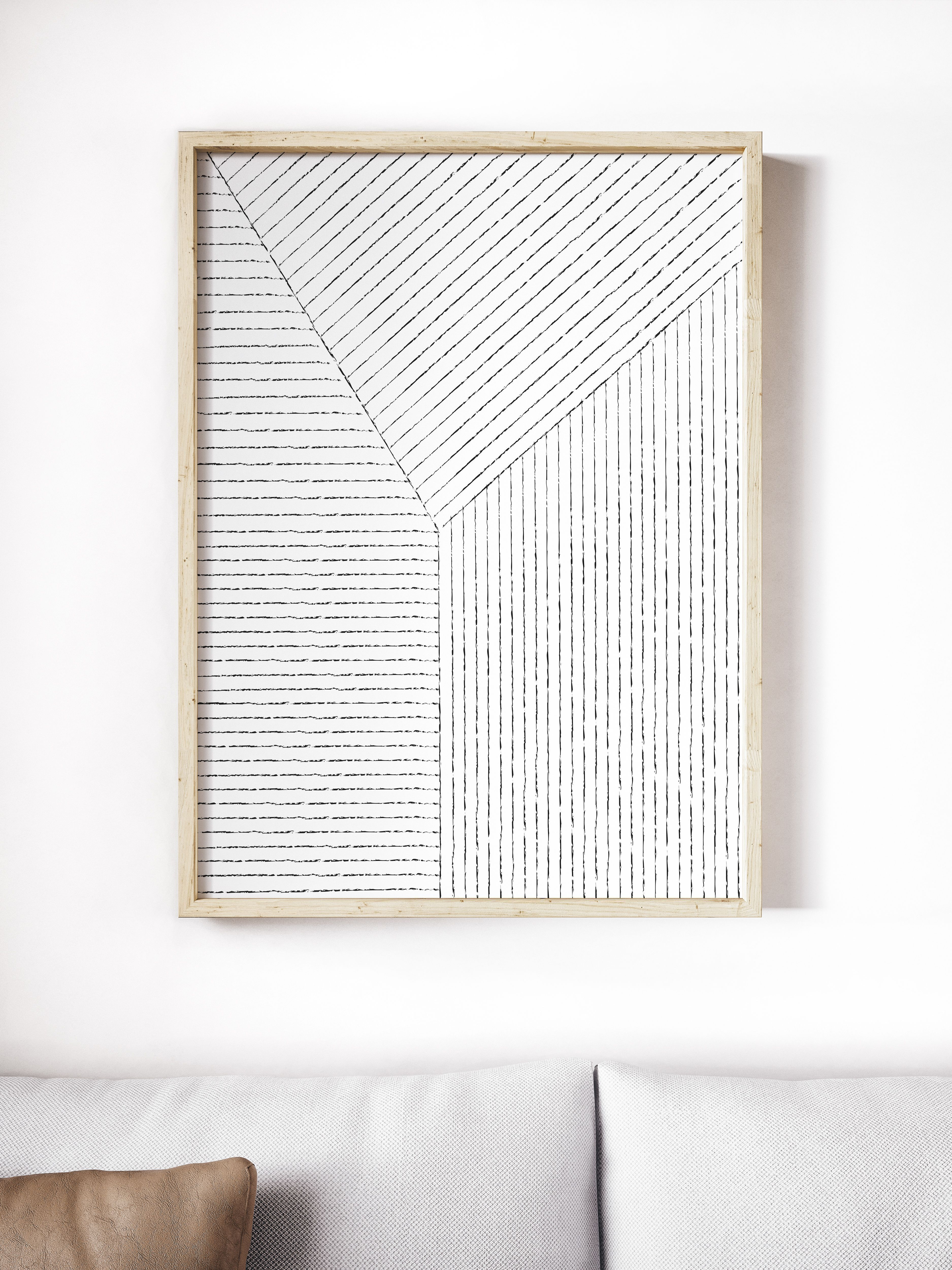 lines art print from society6 com summersunhomeart home decor diy