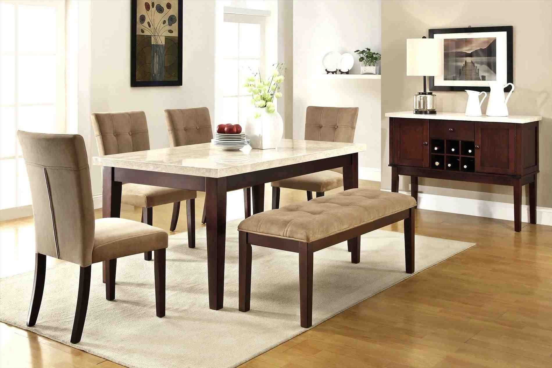 New post dining table bench seat with back