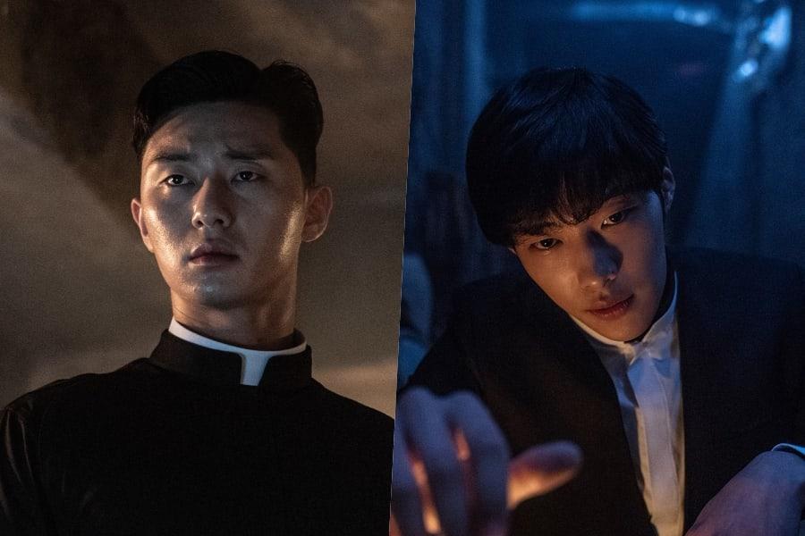Park Seo Joon And Woo Do Hwan S New Film The Divine Fury Sets Premiere Date Soompi Kdrama Actors Seo Joon Fury