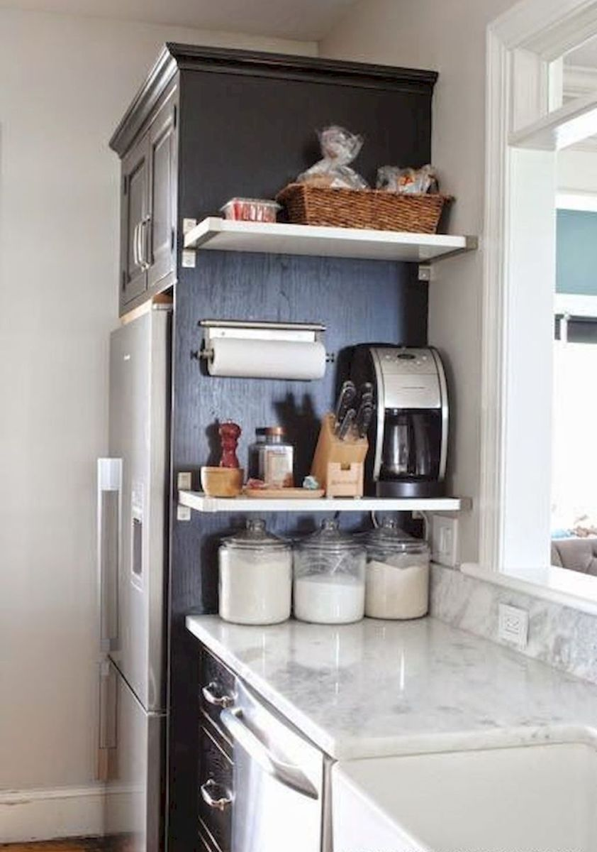 50 Amazing Small Apartment Kitchen Decor Ideas 39 Kitchen Decor Apartment Small Apartment Kitchen Decor Small Apartment Kitchen