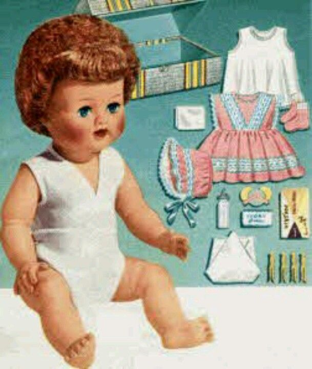 1950 Christmas Toys For Boys : Betsy wetsy doll with trunk c  s pinterest