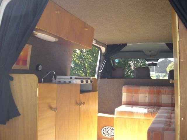 Campervan Interior Mercedes Sprinter