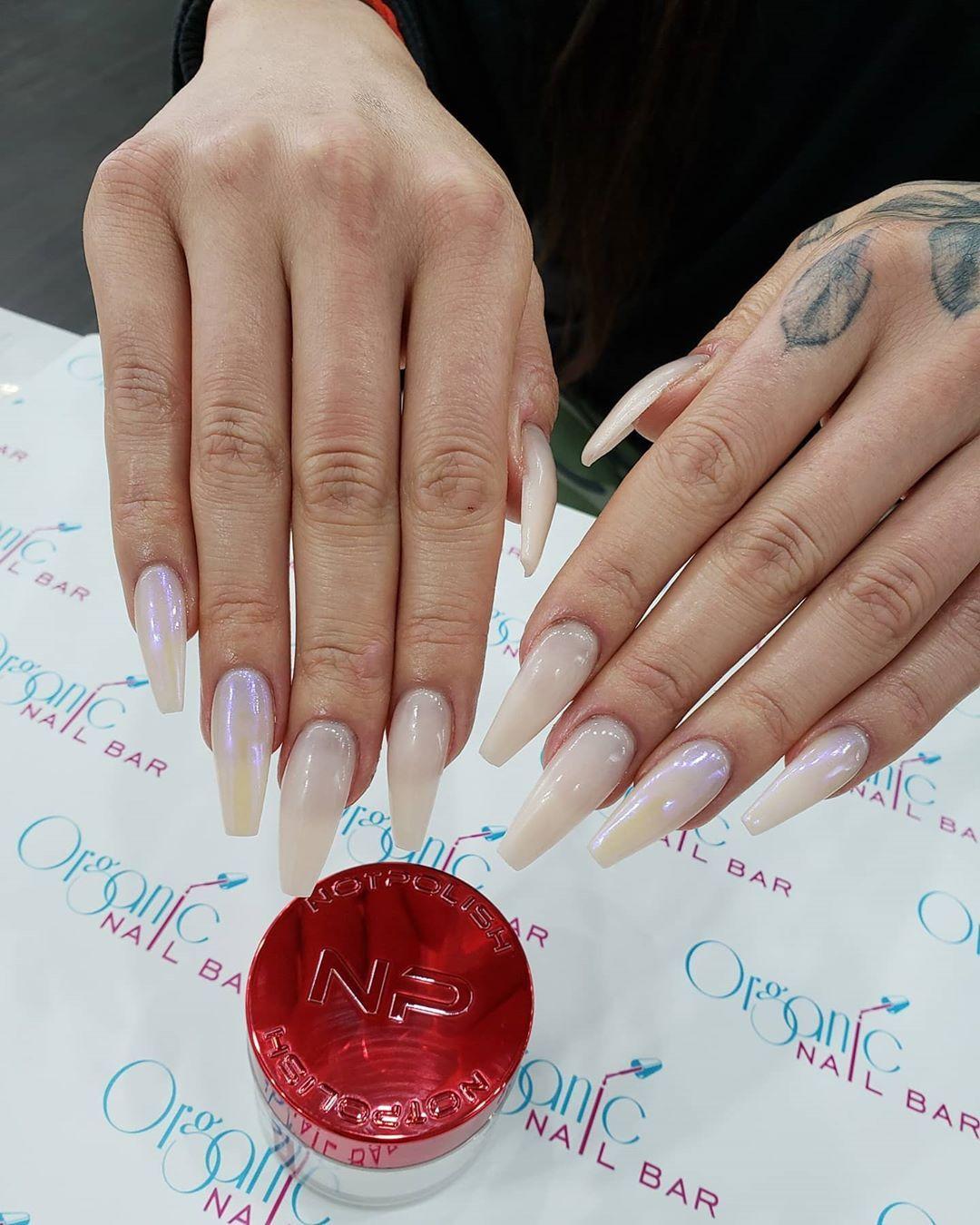 Organic Nail Bar Blue Jays in 2020 Organic nails, Nail