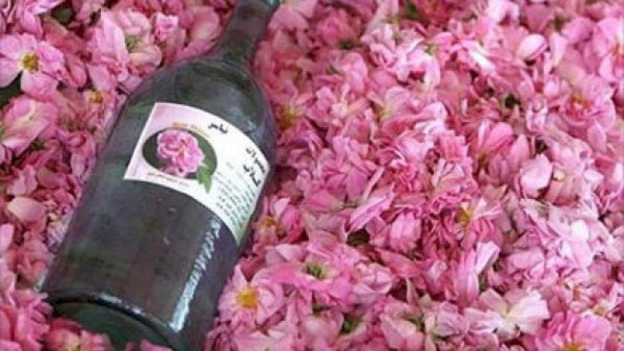 طريقة صنع ماء الورد Wine Bottle How To Make Rose Izze Bottle