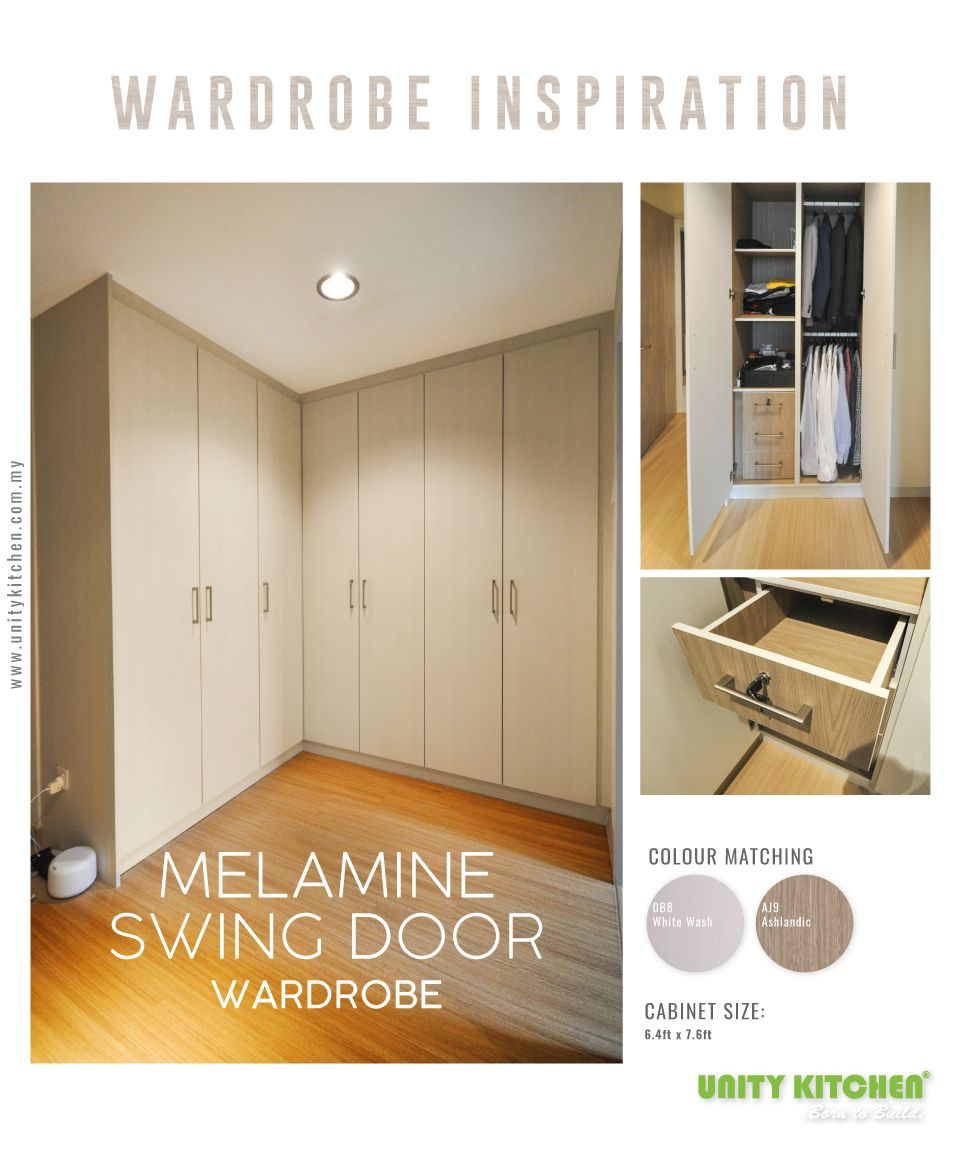 D'interieur Sdn Bhd Customized Swing Door Wardrobe By Unity Kitchen Sdn Bhd Wardrobe