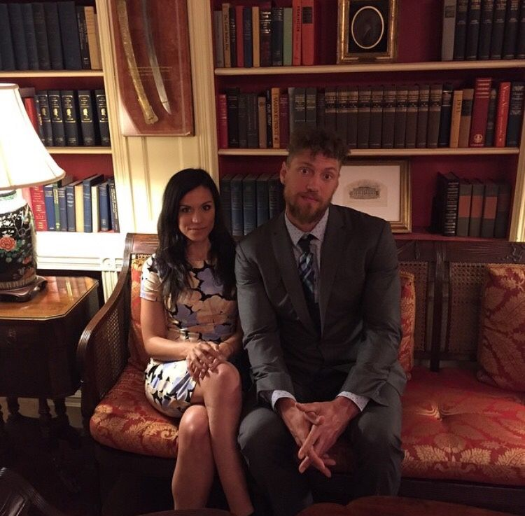 Hunter Pence And Girlfriend Visiting The White House Sf Giants