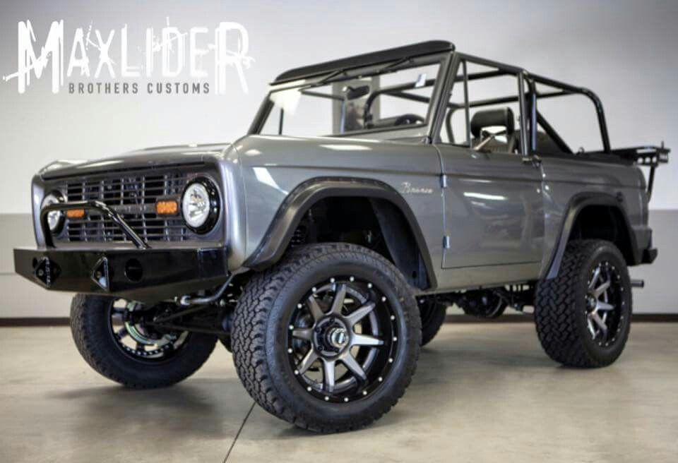 1973 ford bronco built and presented by maxlider brothers customs complete restoration including blueprint engines 347 stroker 5 speed nv3550 vintageair acheat overhaulin cage and tons more malvernweather Gallery