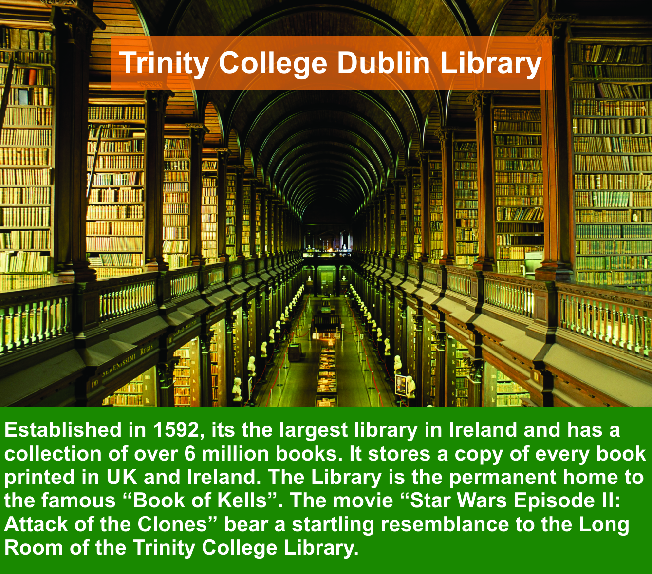 Trinity College Dublin Library The Home To Famous Book Of Kells