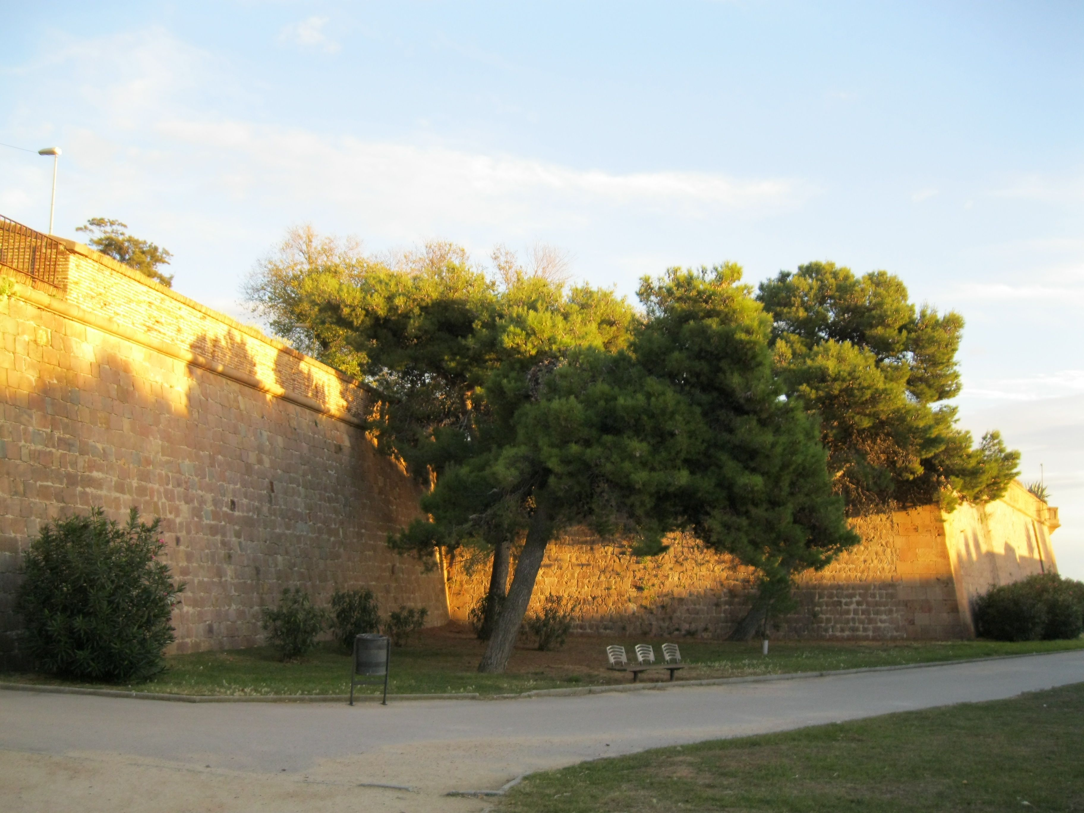 Montjuïc Castle Is An Old Military Fortress, With Roots Dating Back From  1640, Currently