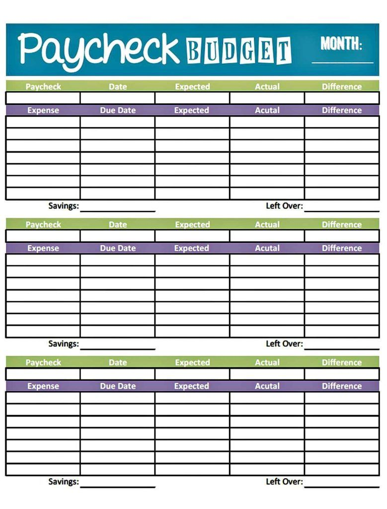Dave Ramsey Budget Spreadsheet Excel Paycheck Budget Weekly Budget Template Monthly Budget Planner