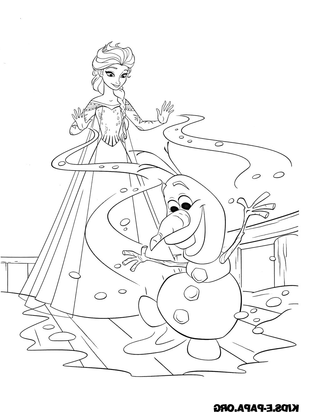 Malvorlage Elsa Coloring and Malvorlagan