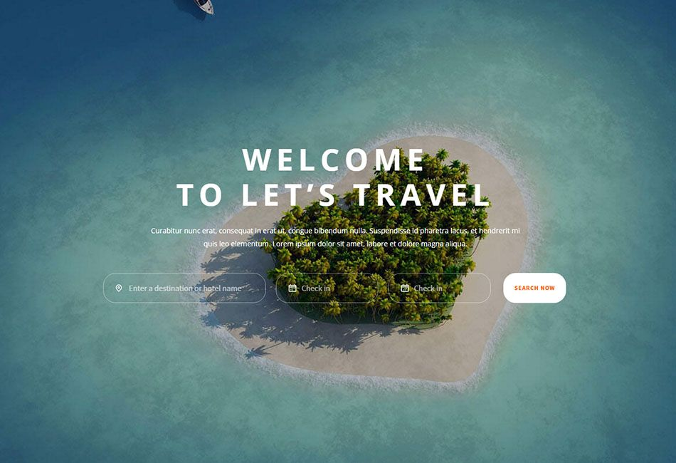 10 Best Hotel Website Templates For And Travel Booking Sites