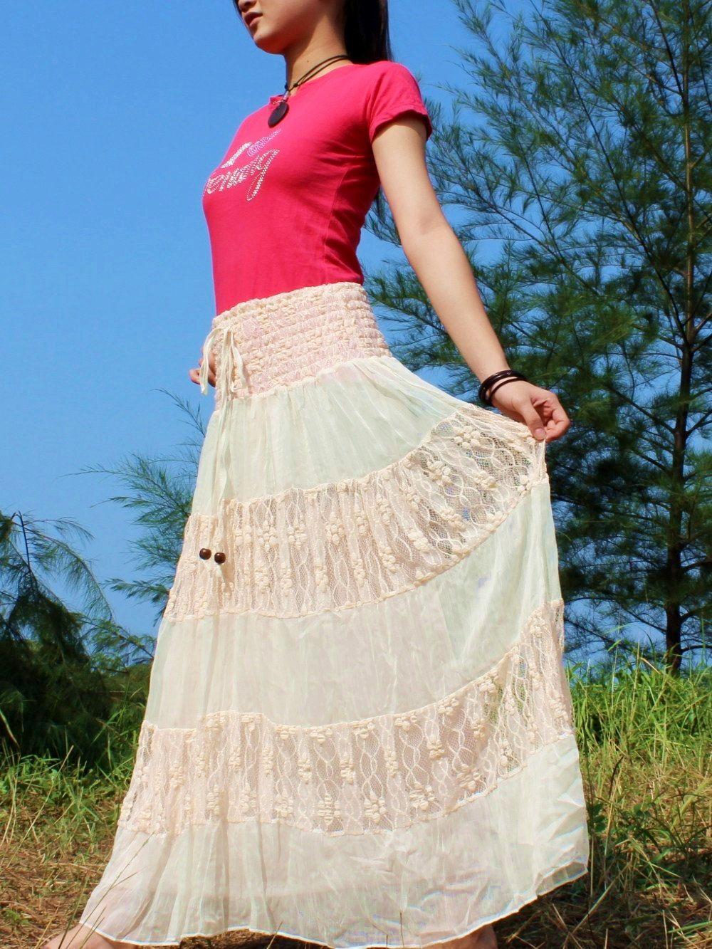 Lace Maxi Skirt Women Long Skirt Summer Short Party Dress Etsy Long Skirts For Women Maxi Lace Skirt Long Skirt Summer [ 1333 x 1000 Pixel ]