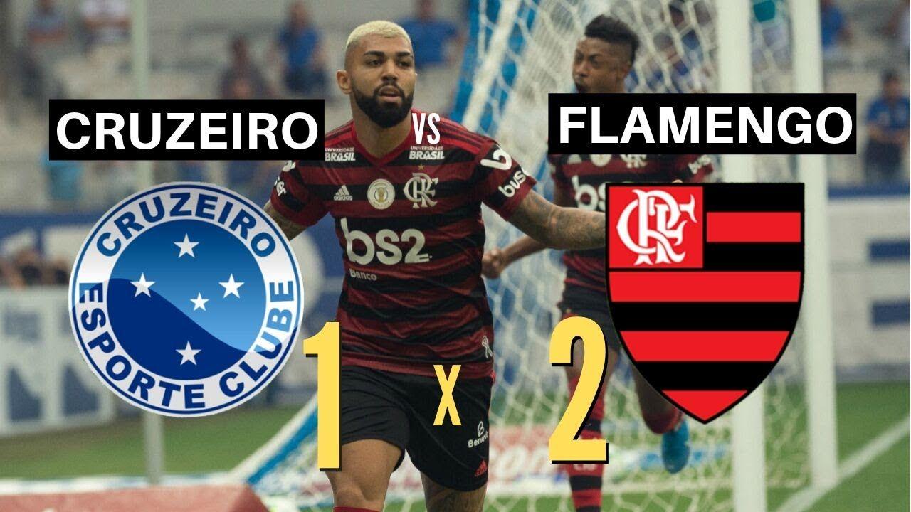 FLAMENGO X CRUZEIRO MELHORES MOMENTOS BRASILEIRÃO 2019
