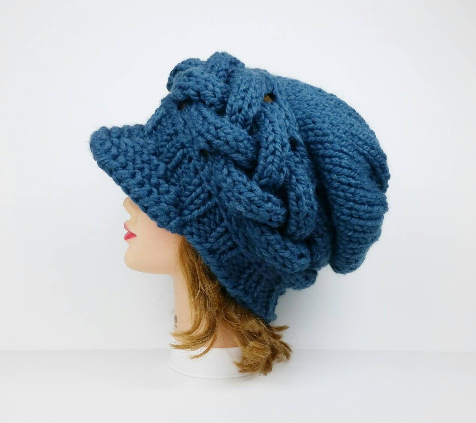 b42926a738d Knit Newsboy Cap