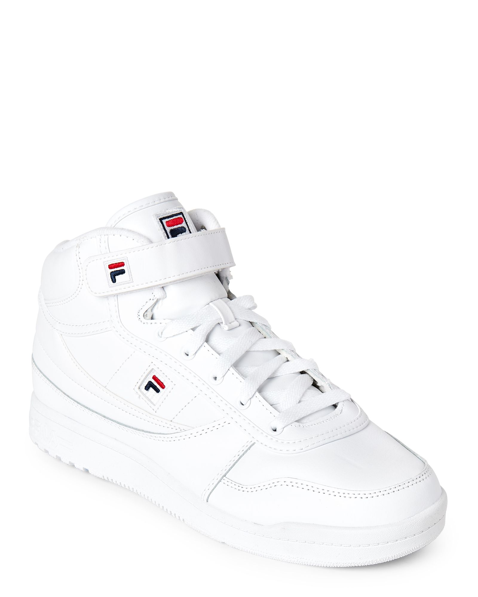 Fila White BBN 86 High Top Sneakers | *Apparel & Accessories