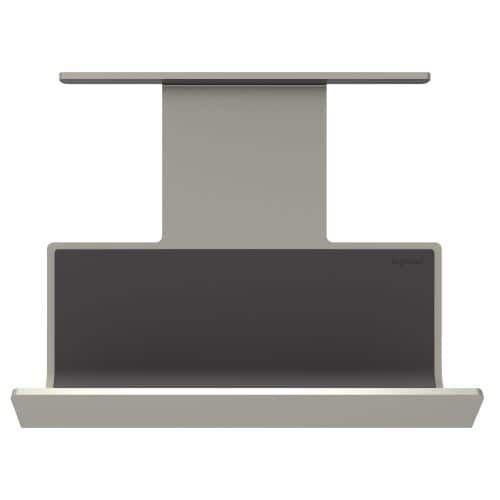 Legrand aapctm4 adorne under cabinet mobile phone cradle silver titanium