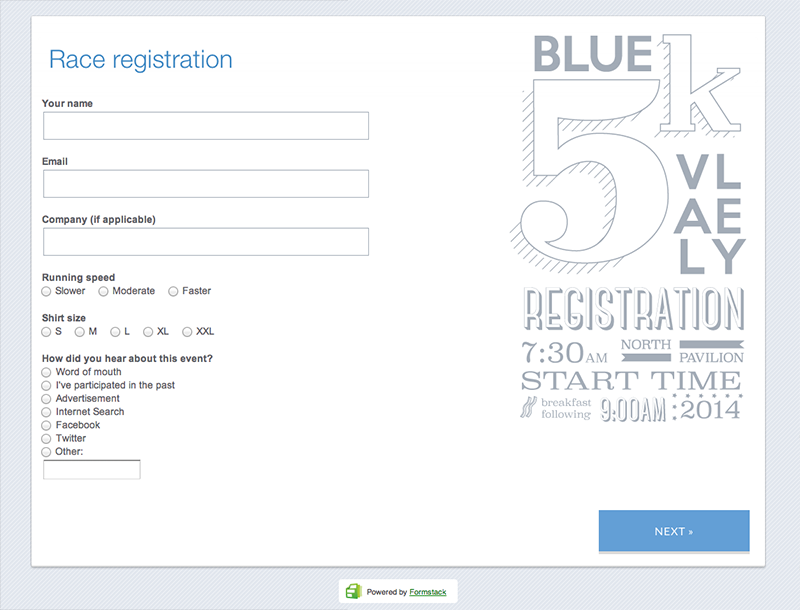 Event Registration Form Template Word Pleasing Make Your 5K Event Even Easier To Manage With Online Registrations .