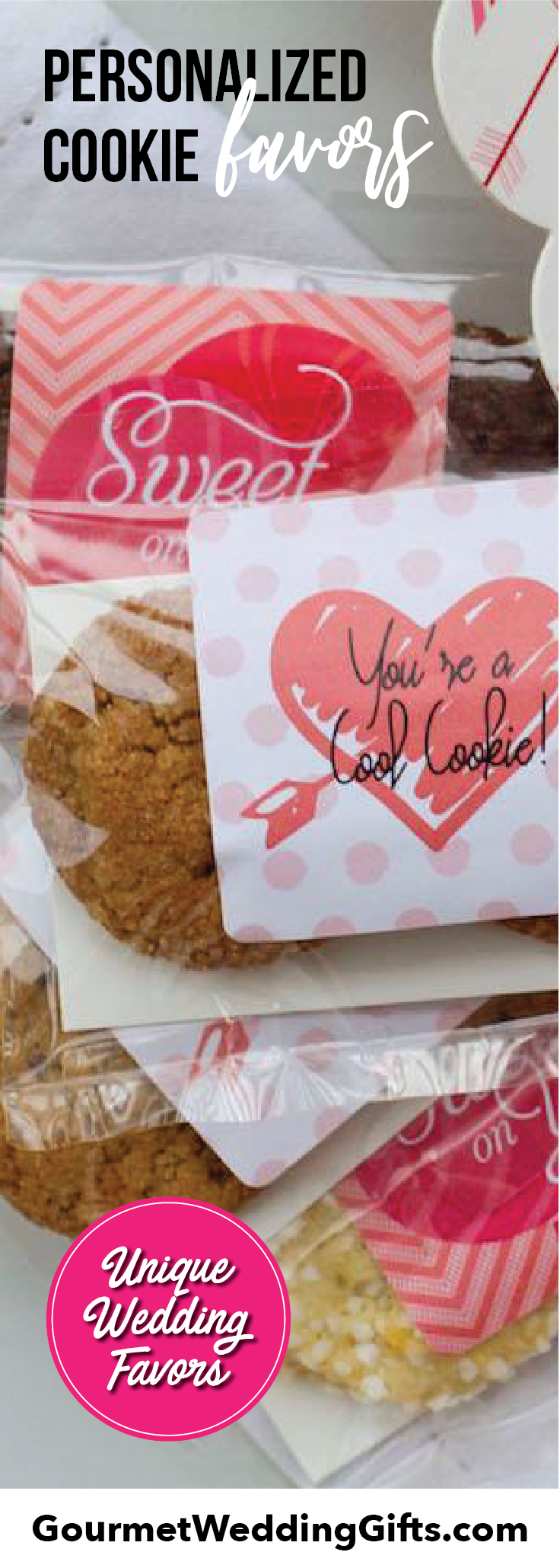 Personalized Cookie Favors (2 packs) | Pinterest | Personalized ...
