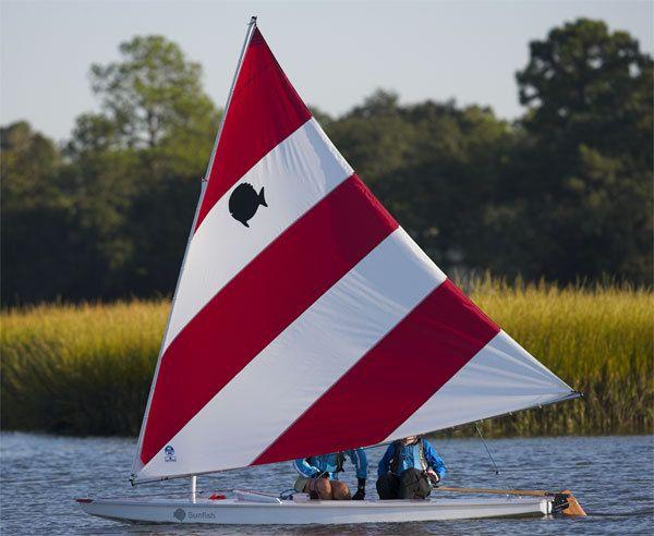 New 2008 Vanguard Sailboats Sunfish Daysailer Boat Photos Iboats Com 1 Sailboat Small Sailboats Sailing