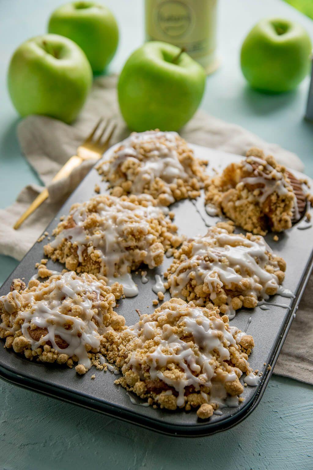 Apfel Zimt Taler Mit Zimt Und Zucker Rezept In 2020 Apfel Zimt Kuchen Zimtkuchen