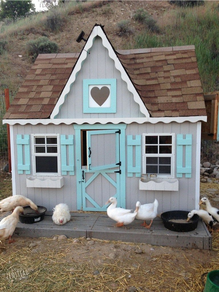 37 Free Diy Duck House Coop Plans Ideas That You Can Easily Build Cute Chicken Coops Duck Coop Duck House Plans