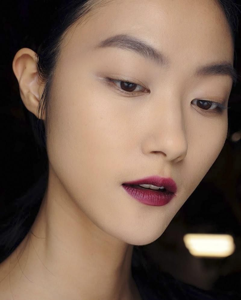 Labios burgundy o burdeos para looks intensos y for Labios burdeos
