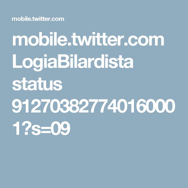 mobile.twitter.com LogiaBilardista status 912703827740160001?s=09