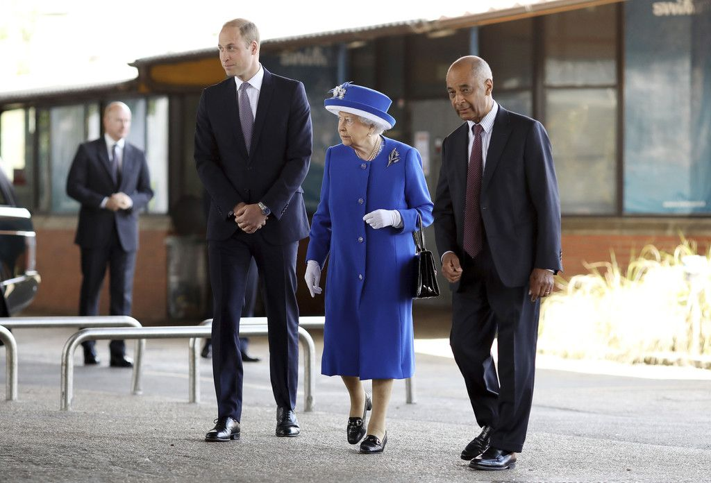 Prince William in The Queen Visits Scene of Grenfell Tower