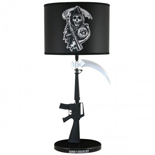 Sons of Anarchy Reaper Table Lamp - http://www.netjunkyard.com ...